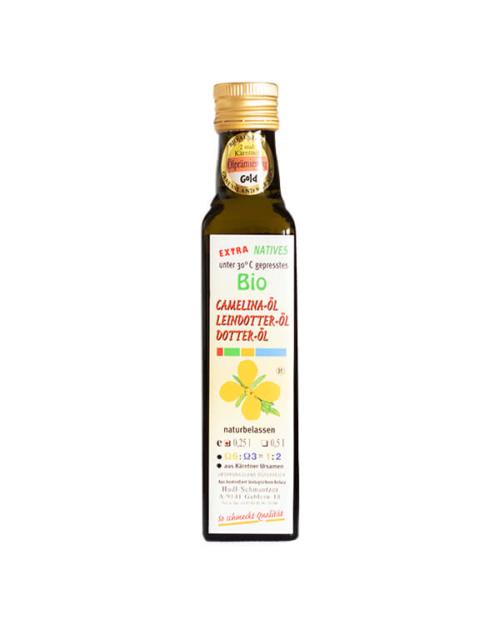 Hudl Camelina Dotter Öl Bio (Leindotteröl) 0.25 Liter - Naturkost Duschlbaur