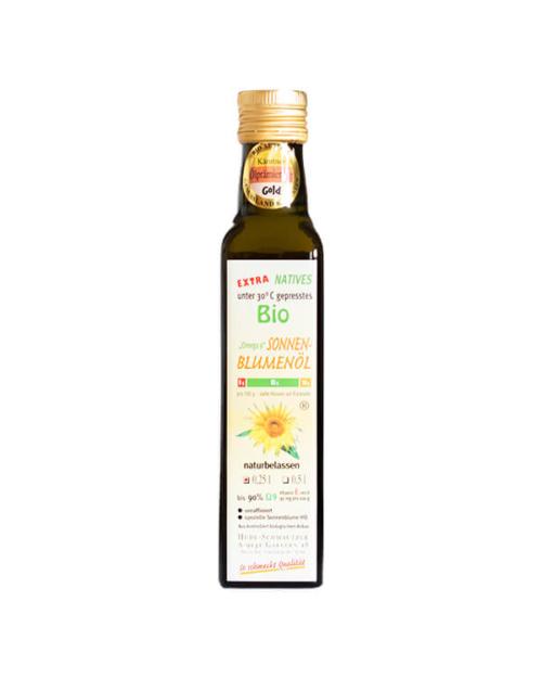 Hudl Sonnenblumenöl Bio 0.25 Liter - Naturkost Duschlbaur
